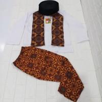 baju anak sodariah laki baju adat betawi anak cowok setelan betawi