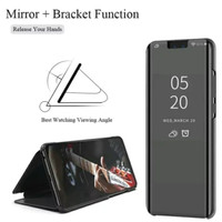 FLIP CASE MIRROR SAMSUNG A70 CLEAR VIEW STANDING COVER MIRROR
