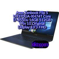 Asus Zenbook Flip S UX370UA-XH74T Core i7-8550u 16GB 512GB 13'3 FHD