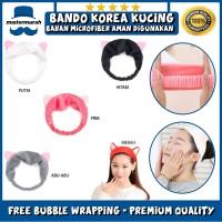 Hair Band Korea Kucing / Bandana Lucu / Bando Cuci Muka / Head Band