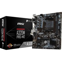 MSI A320M Pro M2 (AM4, AMD Promontory A320, DDR4, USB3.1, SATA3) BC