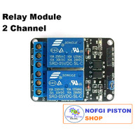 Relay Module 5V 2 Channel 10A 220V for Arduino Raspberry Pi ARM AVR