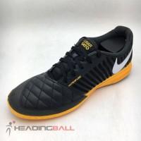 Sepatu Futsal Nike Original Lunar Gato II IC DK Smoke Grey 580456-018