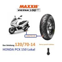 BAN TUBELESS BELAKANG HONDA PCX 150 LOKAL 120/70-14 MAXXIS VICTRA