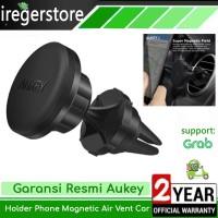 Penyangga HP Mobil Aukey Holder Car Phone Handphone Magnetic Air Vent