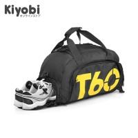 Tas Ransel Multifunction Duffle Bag T60 for Travel and Gym Waterproof