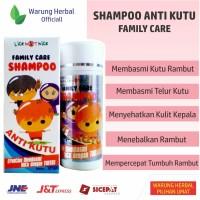 Shampo Kutu Obat Kutu Rambut Family Care Shampoo Anti Kutu
