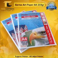 Kertas Art Paper A4 210 gsm 20 Lbr Carton Artpaper Karton putih glossy