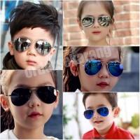 kacamata sunglasses Aviator fashion UNISEX anak laki atau perempuan