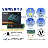 SAMSUNG SSD 860EVO M.2 SATA 2280 1TB / Baru / Ori / Garansi 5 Tahun