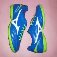 Sepatu Futsal Mizuno Monarcida 2 FS IN (Blue/Green)
