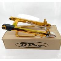 Swing arm Bpro Racing Jupiter Z Stabiliser lubang Gold