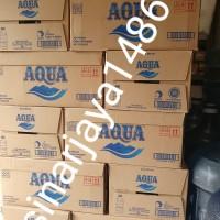 GOJEK GRAB YA! Harga 1 DOS AQUA 330ML air minum dalam kemasan botol