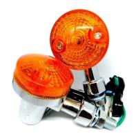 Lampu Sein Sen Riting Motor Bulat Plastik Scoopy Vixion Megapro Vario