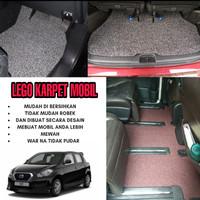 Karpet Mobil Mie Bihun 1 Warna DATSUN GO PANCA Full Bagasi
