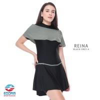 Baju Renang Wanita Dewasa Cewek Perempuan Rok Semi Cover Edora Reina