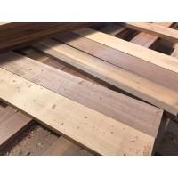 Papan kayu ulin polos T 1 cm P 60 cm