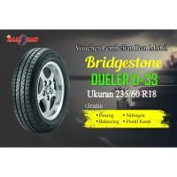 Voucher Ban Mobil Bridgestone Dueler D-33 235/60 R18