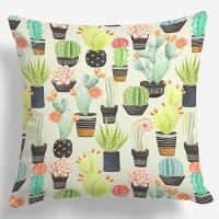 Bantal sofa kaktus green multi