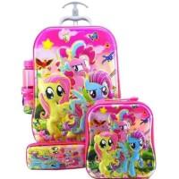Trisnashop Tas Koper Anak Little Pony 4In1