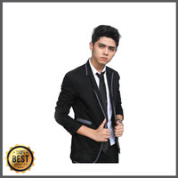 Blazer Pria Kualitas Premium, Jas Blazer Aliyando GGS