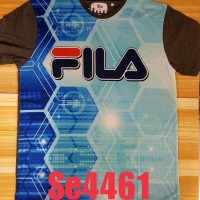 Se4461 atasan pria baju fila jumbo big size XL kaos thai jumbo murah