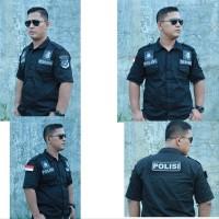Big Sale Baju Kemeja Tactical Taktikal Taktical Tektical Htitam Lengan