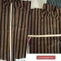 Baju Adat Jawa Surjan Lurik Anak Kostum Adat Tradisional - 2-3 tahun