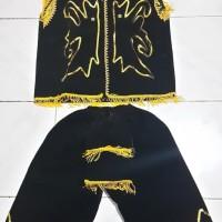 pakaian baju adat kalimantan barat baju dayak L