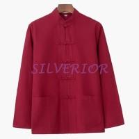 Good Baju Tradisional Cheongsam Cina Oriental Pria Laki Lela
