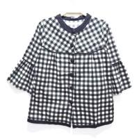Blouse Batik Wanita blouse/atasan/baju/batik katun rami/linen/jepang