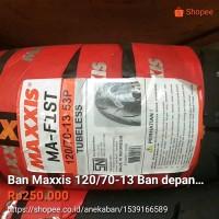 Bagus Ban Maxxis 120 70 13 MA F1ST Ban depan motor Yamaha Nma