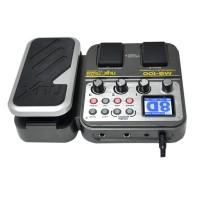 NUX MG-100 Pedal Efek Gitar Elektrik dengan Perekam+Tuner Suara Drum