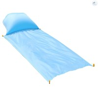 Frew-Foldable Picnic Blanket Beach Blanket with Inflatable Pillow