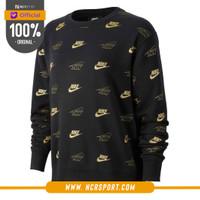 Pakaian Sneakers Nike Wmns Crew BB Bff Shine Sweatshirt Black Original