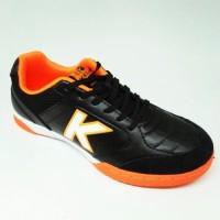 Kicosport Sepatu futsal KELME land precision black orange original new