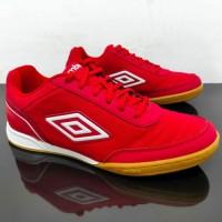 Sepatu Futsal - UMBRO FUTSAL STREET V 81277U A54 Vermillion/White