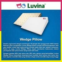 Luvina Bantal Santai Bayi Latex - Wedge Pillow
