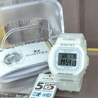 Jam Tangan Digitec Original DG-4088 Transparan Model Baby G Series