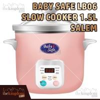 Baby Safe LB06D Slow Cooker Digital Alat Masak Makanan MPASI Anak Bayi