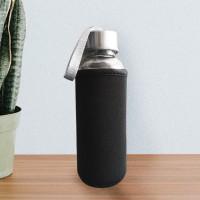 Botol Air / Botol Minum Kaca Beling / Botol Promosi dgn sarung