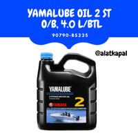 YAMALUBE Oli Mesin Tempel Yamaha 2 Tak 4L Botol 90790-BS225