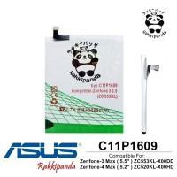 Baterai Asus Zenfone 3 Max 5.5 inch ZC553KL X00DD C11P1609 Double IC