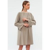 Minimal Flowy Pleat Dress