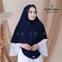 Jilbab Syari Dewasa Hijab Arrafi AR 093 Talita Jumbo Bergo Serut