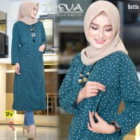 Baju Atasan Wanita Blouse Muslim Treva Tunik Ori Shofiya