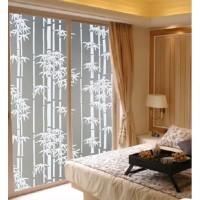 45cmx5m sticker kaca / sunblast bambu