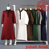 Jubah muslim lengan pendek - Baju Muslim Anak Laki-laki - Gamis Anak