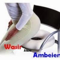 Bantal duduk pencegah ambien/wasir + pompa