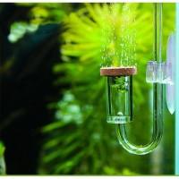 MINI Co2 DIFFUSER difuser glass aquascape aquarium